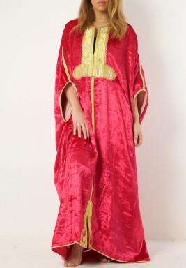 Maryam Velvet Dress
