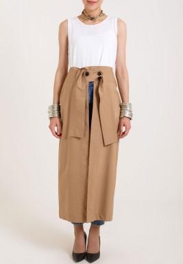 Kraft Wrap Skirt