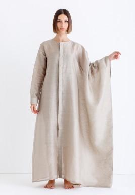 Sand Oversized Shirt Kaftan
