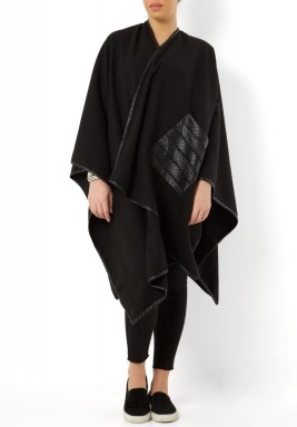 Sheikha black shawi