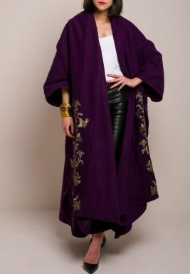 Dana Purple Bisht
