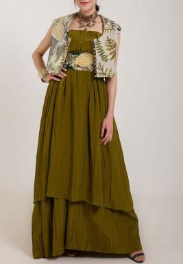 Silk stretch Dress