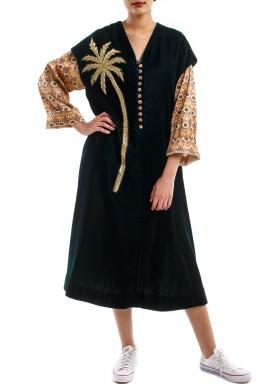 Short palm tree dress