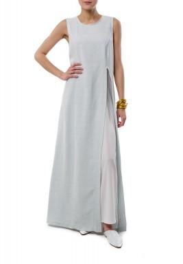 Sky open dress