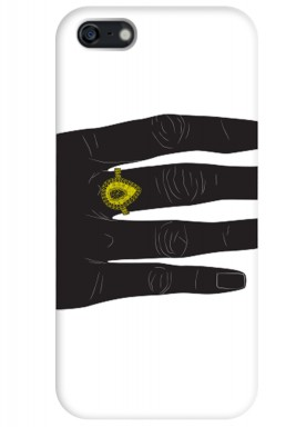 Black Hand Phone case