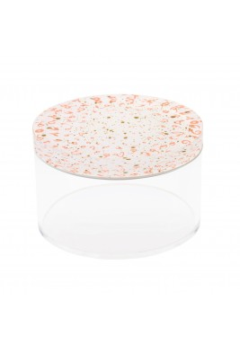 Flat Accents Container (M) -  Coral