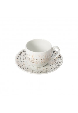 Accents Espresso Cup and Saucer - Black