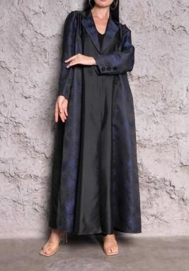 Hatan Black Maxi Abaya