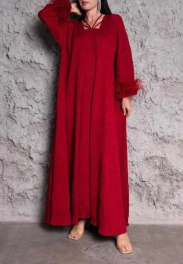 Red Johara Set