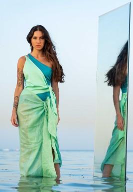 Green Salerno Sarong