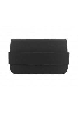 The Bullet Leather Black Bag