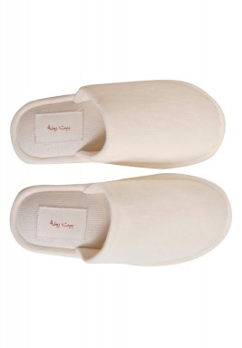 Beity White Home Slippers
