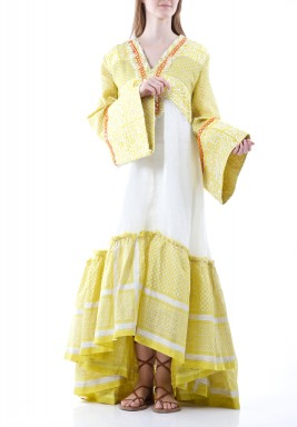 Bina Linen Dress
