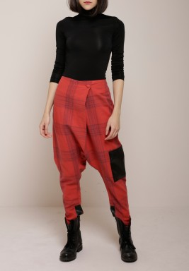 Checkered shirwal