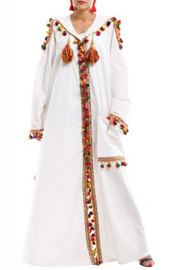 Rabia Morrocan Kaftan with Cold Shoulders Cut