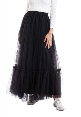 Tulle black skirt