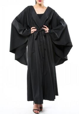 V neck Jumpsuit Black