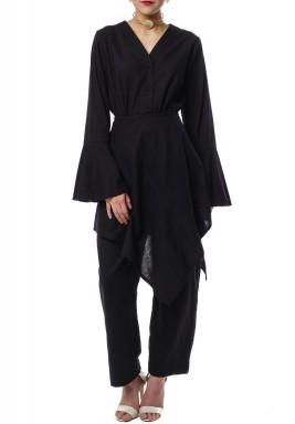 Sharwal jumpsuit Black