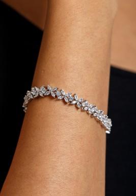 Silver-Tone Splendor Bracelet