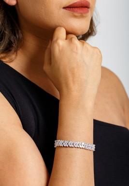Silver-Tone Ethetrealbracelet