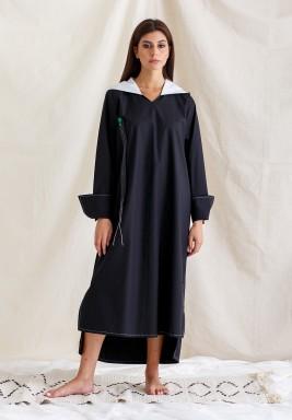 Black Hoodie Dress