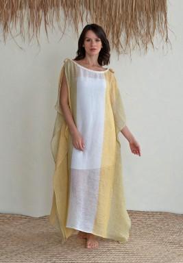 Laguna Striped Maxi Dress