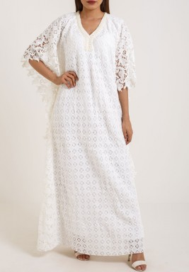 Diamond Lace Kaftan