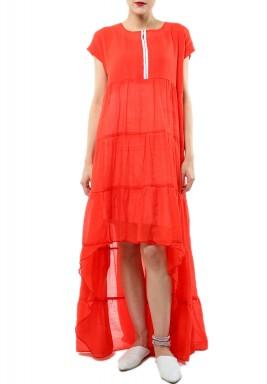 Red Flow Dress