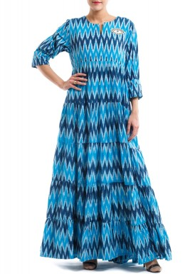 Blue eye kaftan