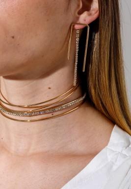 Golden Lane Earrings