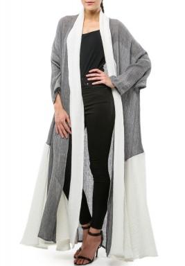 Light Grey Abaya