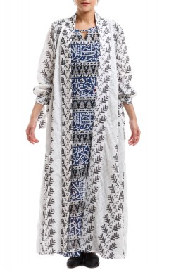 Feda Embroidered Kaftan Set