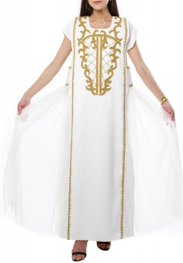 Royal Pearl kaftan