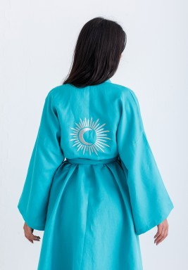 Limited Edition Turquoise Ramadan Robe
