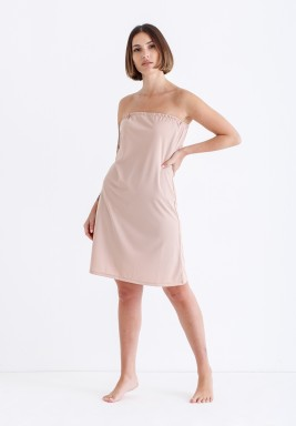 Nude Pink Short Strapless Lining
