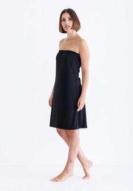 Black Short Strapless Lining