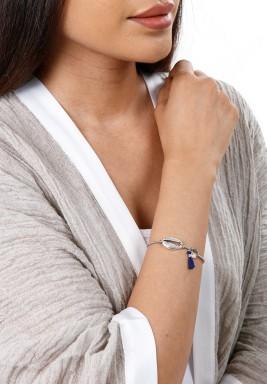 Badu Silver Shell Bracelet