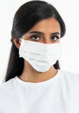 White Washable Face Mask