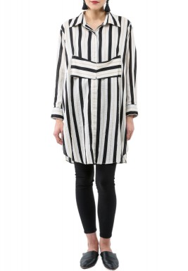 Stripes Corset Shirt