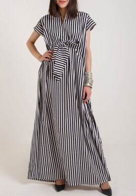 Phoenix Striped Kaftan