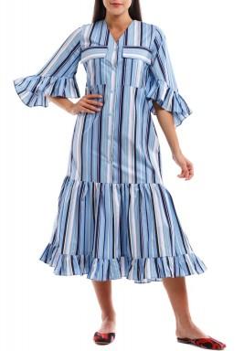 Multi Color Stripes Dress