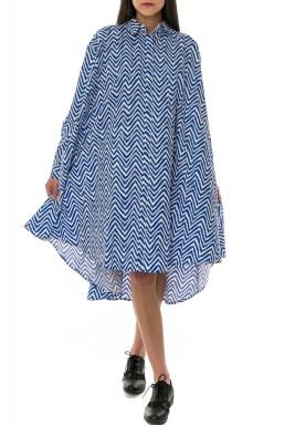 Cobalt Zigzag Dress