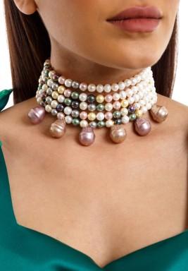 Majorca pearls necklace