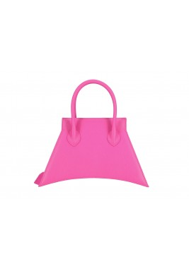 Pink Micro Blanket Leather Bag