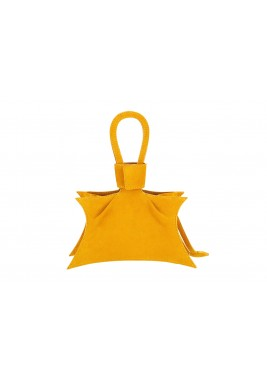 Seda Yellow Star Leather Bag