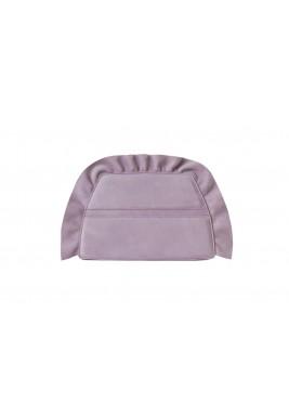 Cherubim Lilac Ruffled Clutch