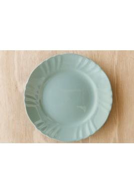 Romantic Dinner Plate Sage 12 Pieces