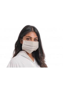 Grey Linen face mask