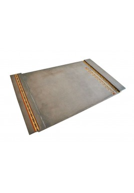 Concrete Mosaic Long Tray