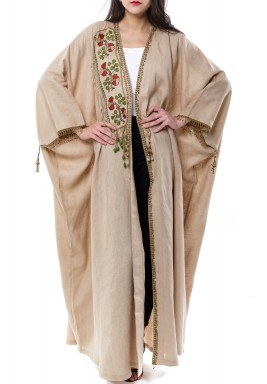 Antique  patch Kaftan With Scarf